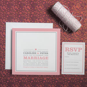 Amelia Wedding Invitation - invitations