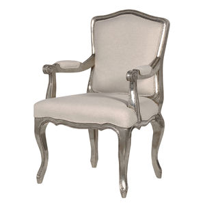 Armchair In Silver