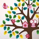 Girls Nursery Tree Wall Sticker