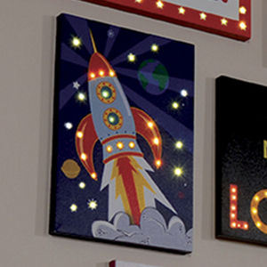 Rocket LED Canvas - lighting
