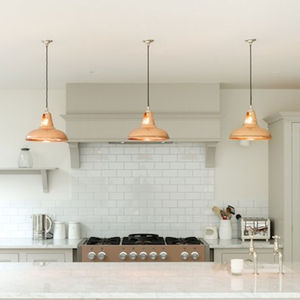Coolicon Industrial Pendant Light Polished - living room