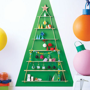 Rope Ladder Alternative Christmas Tree