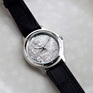 Muonionalusta Meteorite Watch - distinctive dad jewellery