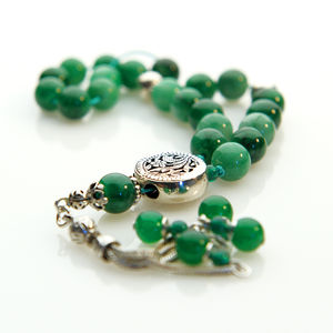 Jade Worry Beads - women's jewellery