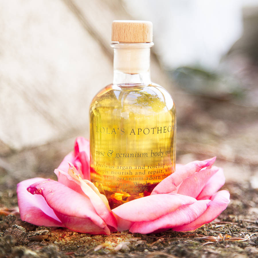 Delicate Romance Balancing Body And Massage Oil By Lola's ...