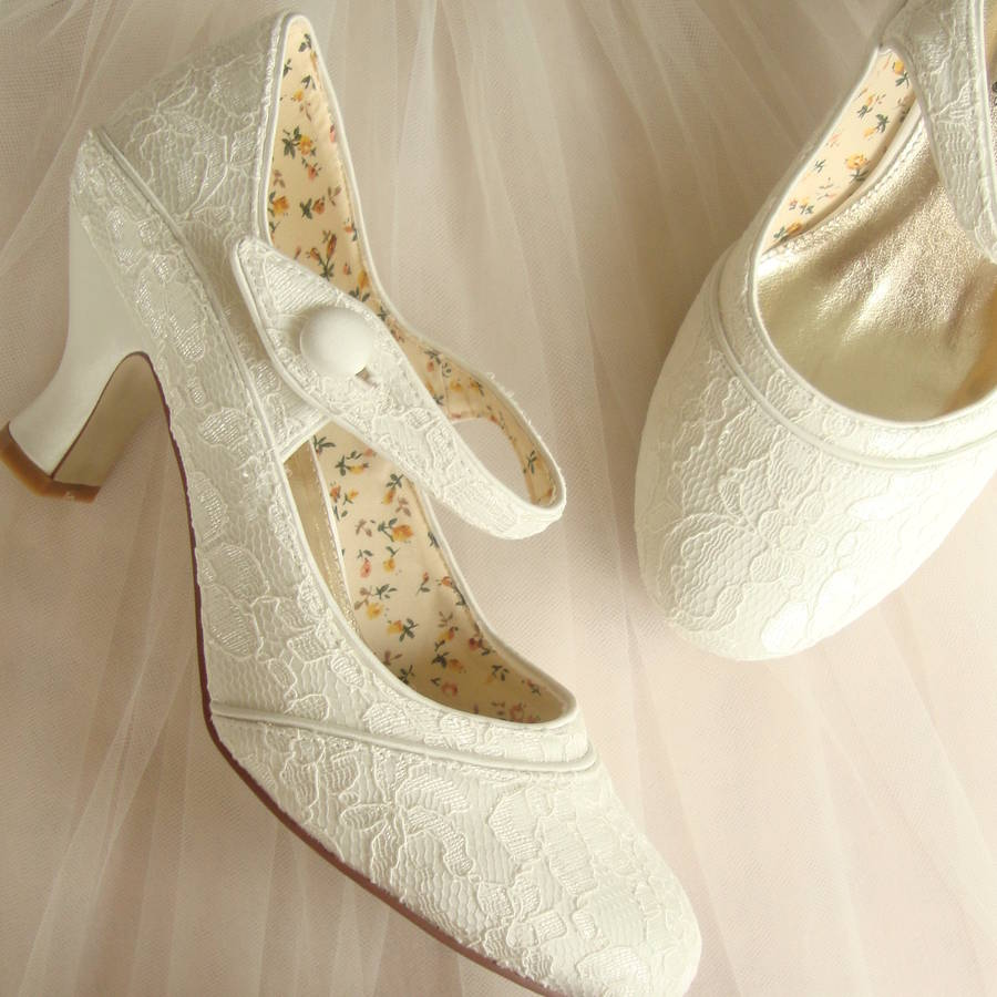 bridal shoes not