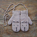 brown bear mittens