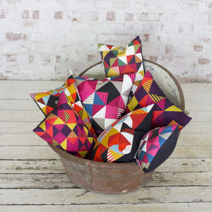 Geo Mix Baguette Cushion - sale by category