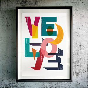 'Velo Love' Fine Art Giclée Print - activities & sports