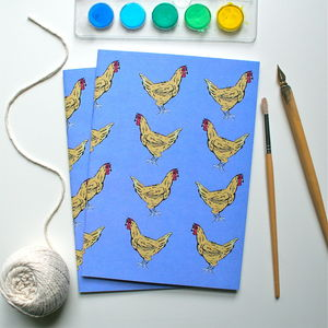 Farmyard Chicken Notebook