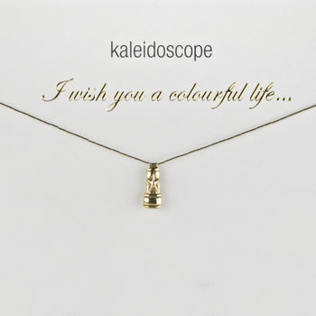 A Colourful Life Gold And Silver Graduation Necklace
