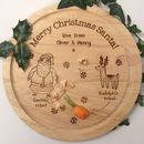 Personalised Santa's Christmas Treat Plate