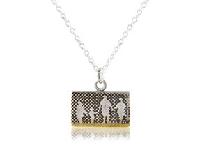 Little Beach Family Necklace