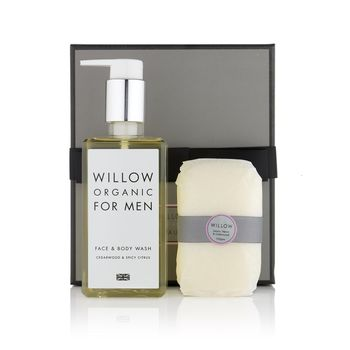 Men's Organic Wash & Soap Box