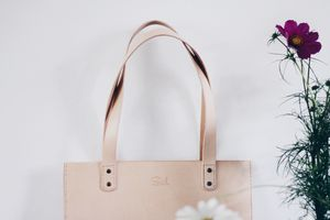 Handmade Leather Everyday Tote