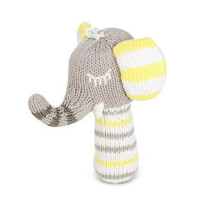 Piper The Elephant Mini Rattle - baby care