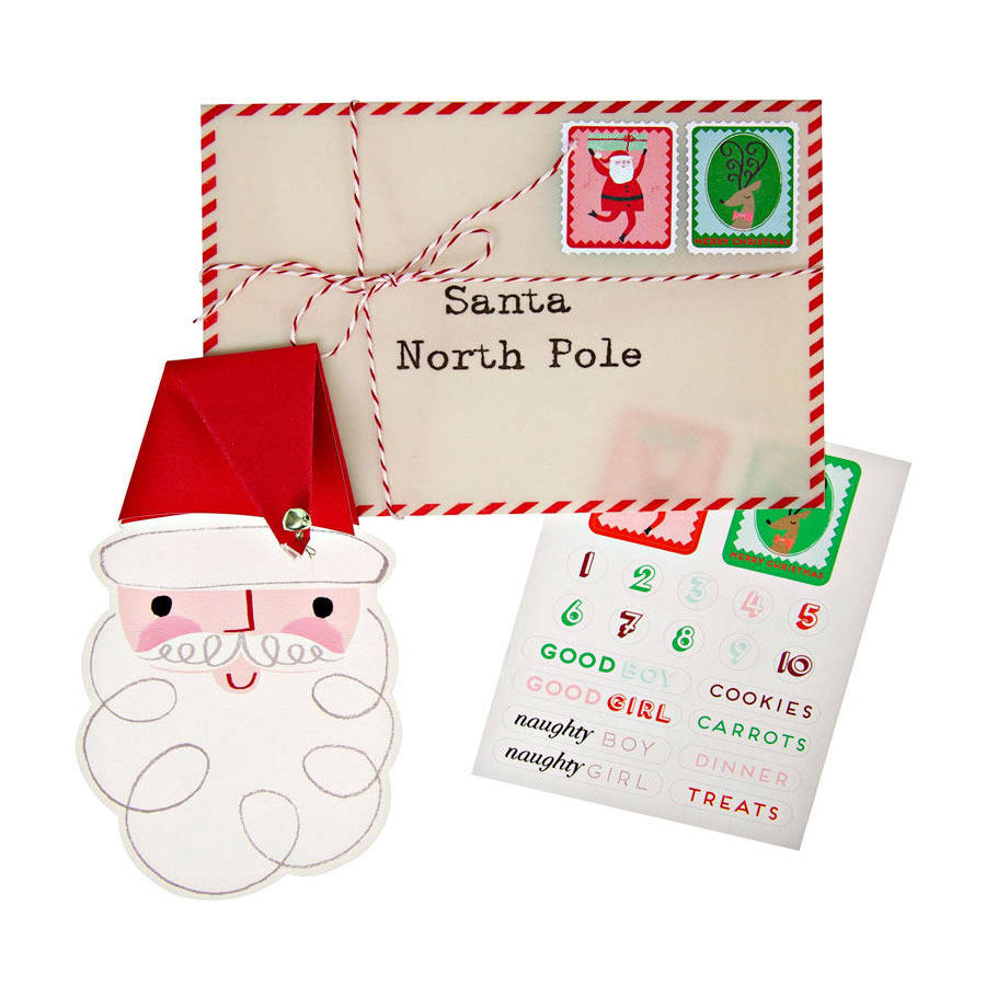 letter to santa set by little baby company With letter to santa set
