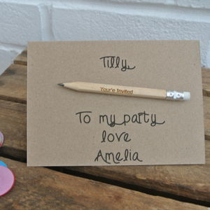 Personalised Party Invites - engagement & wedding invitations