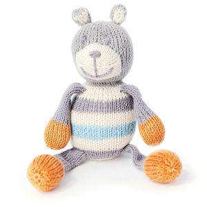 Milo The Bear Rattle Buddy - soft toys & dolls