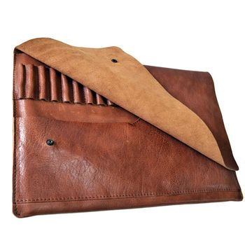 Leather Portfolio Document Case