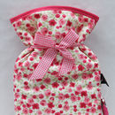 Hot Water Bottle Ditsy Floral Print