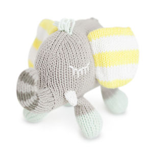 Piper The Elephant Rattle Buddy - soft toys & dolls