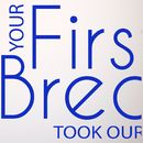 'Your First Breath' Wall Sticker Quote