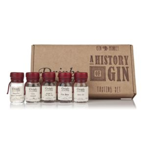 Gin Monkey A History Of Gin Tasting Set - food gifts