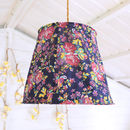 Vintage Style Floral Lampshade
