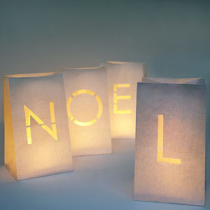 Noel Paper Lanterns - christmas home
