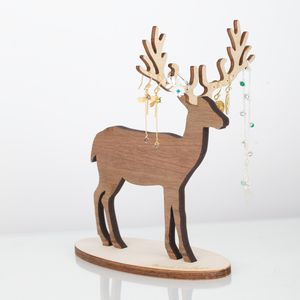 Deer Jewellery Stand Storage Organiser - jewellery storage & trinket boxes