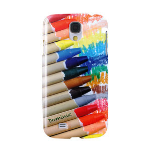 Arty Crayon Design, Personalised Phone Case