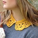 Organic Cotton Crochet Collar