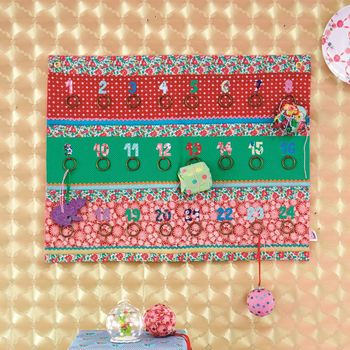 Patchwork Fabric Advent Calendar