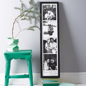 Personalised Giant Photo Booth Print - gifts for him