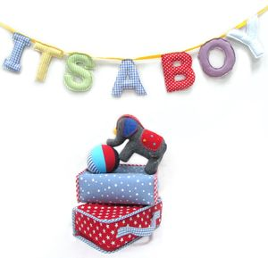 'It's A Boy' Bunting - home