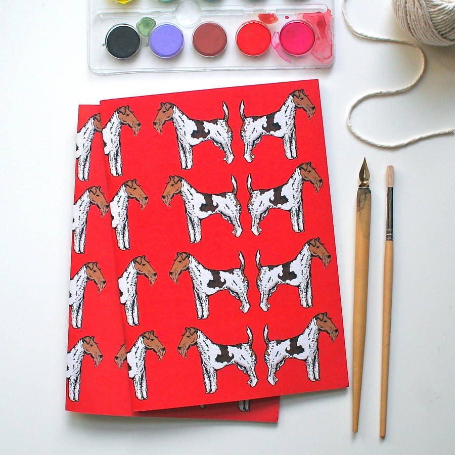 Fox Terrier Notebook