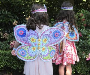 Colour Crazy Fairy Wings - fancy dress