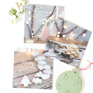 Pack Of Ten Christmas Cards - cards