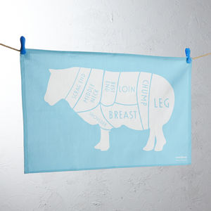 Butchers Lamb Tea Towel - view all sale items