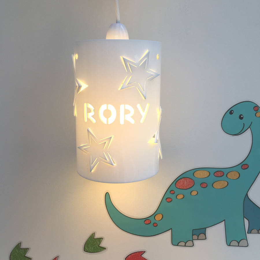 Personalised Star Ceiling Shade