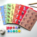 Animal Notebook Gift Set