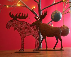 Christmas Elk Decoration - christmas home accessories