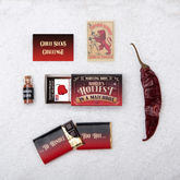 Carolina Reaper And Chilli Chocolate In A Matchbox - food & drink
