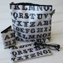 Typography Card Holder