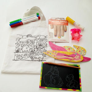 Grab And Go Activity Pack For Girls - wedding day activities
