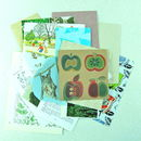 Nature collage papers