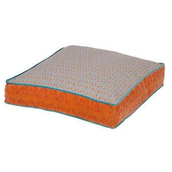 Large Floor Cushion - Orange