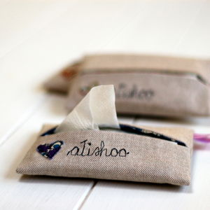 Tissue Case - make-up & wash bags