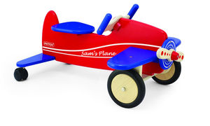 Wooden Ride On Plane - outdoor toys & games